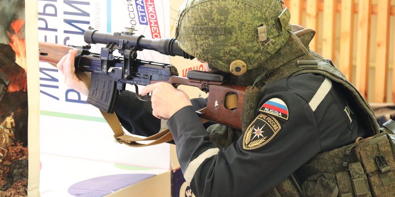 Страйкбольные соревнования по практической стрельбе прошли во Дворце молодёжи