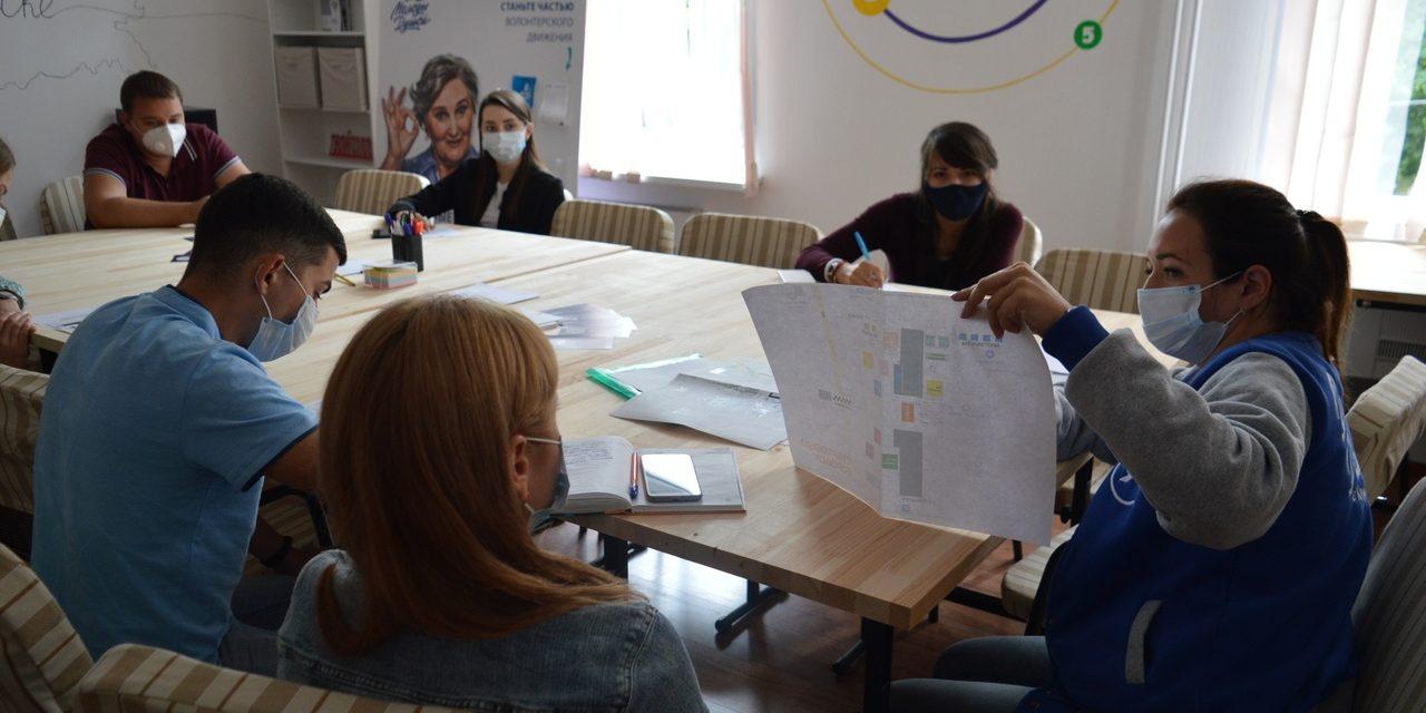 Во Дворце молодежи стартовало обучение волонтеров «ЗаБега»