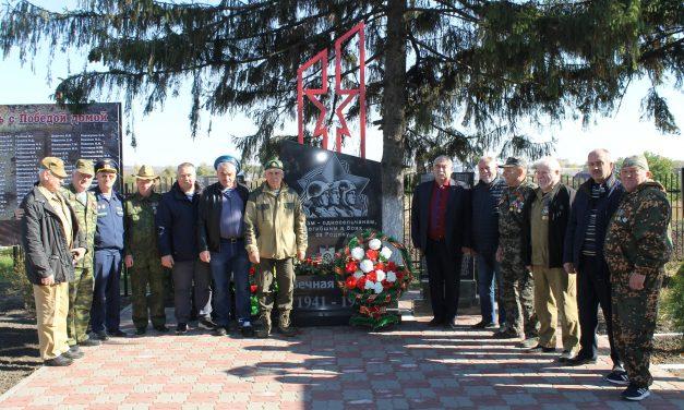 В Суджанском районе открылись памятные знаки: «Воинам-односельчанам, погибшим в боях за Родину» и «Землякам, погибшим в локальных конфликтах»